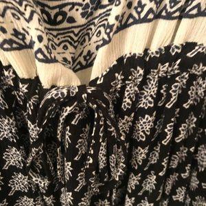 Free People Dresses - Black and white FreePeople boho dress